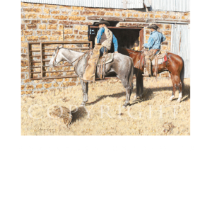 For Sale Originals, western artist, mikel donahue