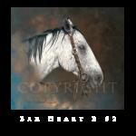 Bar Heart 2, Mikel Donahue, Western Artist