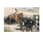 Cut, cropped and Branded, Mikel Donahue, Western Artist