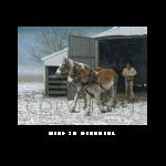 Deep in december, western artist, Mikel Donahue
