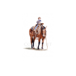 Tall in the saddle, western artist, Mikel Donahue