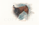 Buster, Mikel Donahue, western artist